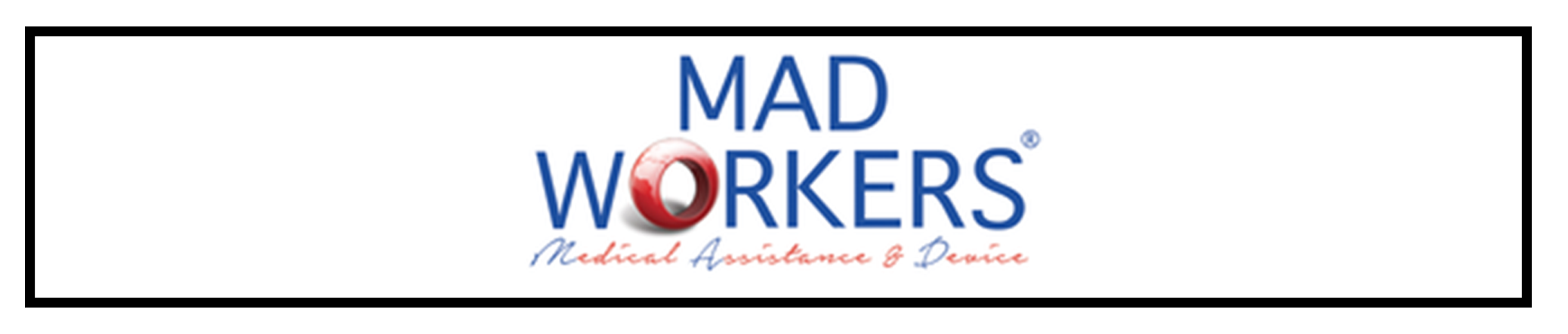 Logo for MadWorkers - Medical Assistance & Devices